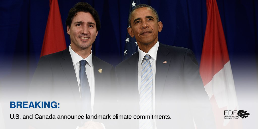 BREAKING: U.S. & Canada agree to reduce methane emissions 40-45% in next decade https://t.co/AAlm2X75GP https://t.co/WGsPExnlOk
