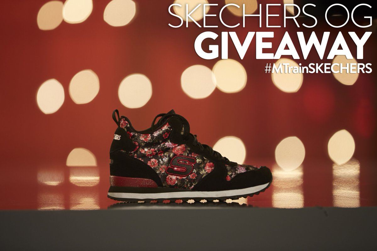 Do you own a pair of #MTrainSKECHERS? If the answer is #NO, RT for a chance to win a pair from the NEW collection! https://t.co/lOvNHE48CL