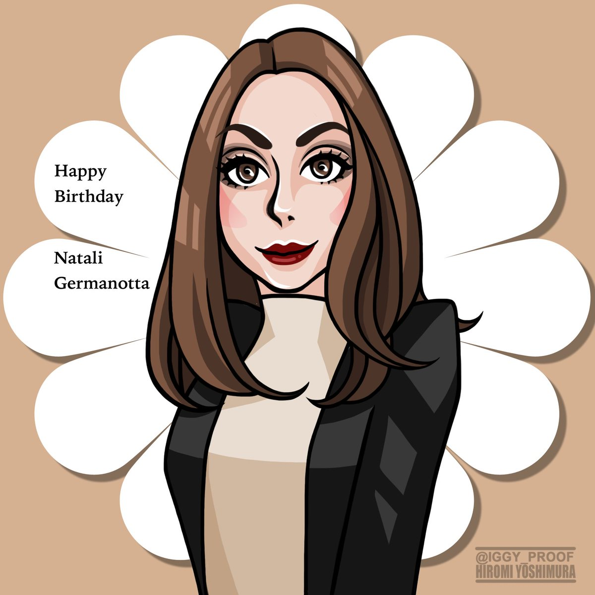 Happy Birthday Natali Germanotta! Wishing you a wonderful day!