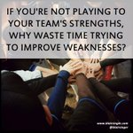 Amplifying strengths is far more effective & beneficial for your business. #ChampionshipTeam https://t.co/oimZSsU6Ll https://t.co/hFxDWUT0tg