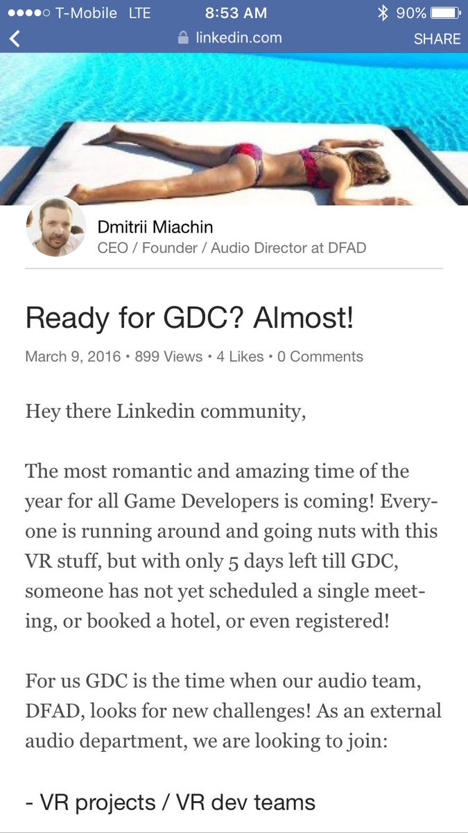 Going to #GDC16? Don't do business with DFAD or @goodnightgames1 of which Lawrence is the CEO. #nameandshame https://t.co/1azAsWARhC