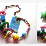 Mommy Necklace Nursing Feeding Teething Necklace HAPPY GREEN FROG Colorful Fun https://t.co/lBXVwWwtQZ … https://t.co/zYffgrthE6 ,,,