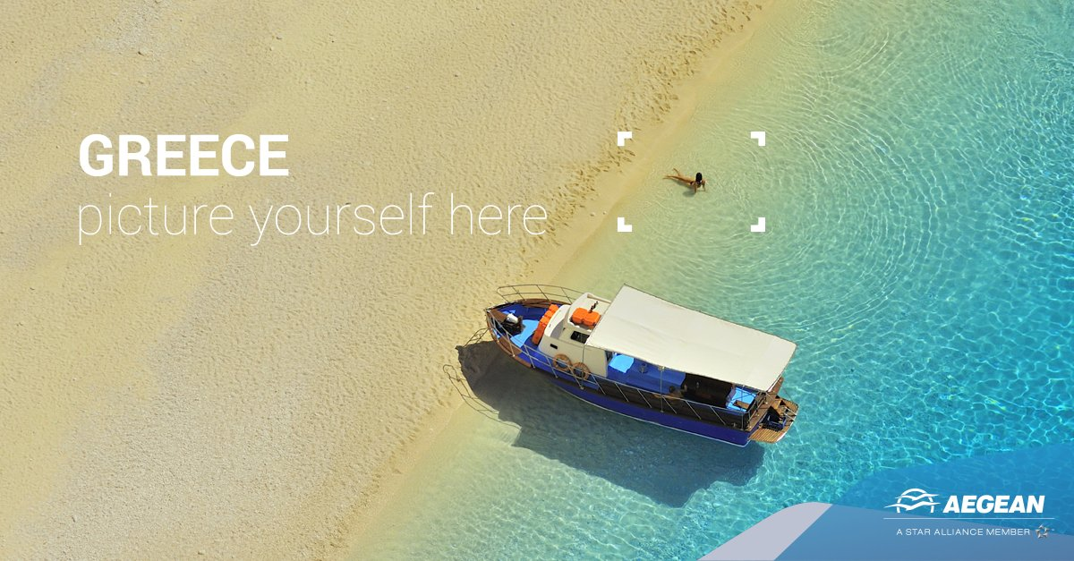 Sandy beaches and a brilliant sun.Greece is waiting for you with up to 30% off on tickets!