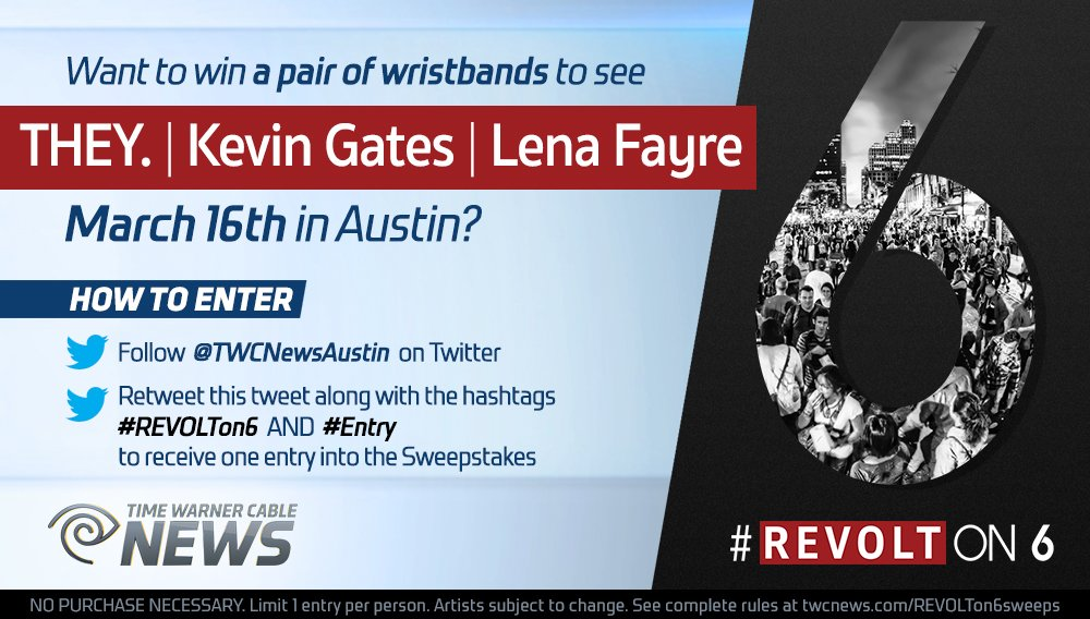 Want a pair of REVOLT on 6th wristbands? Follow & RT for a chance to win! #REVOLTon6 #Entry https://t.co/efTx4QmftF https://t.co/gW2Nu73CFk