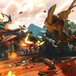 Just released: new Ratchet & Clank PS4 screens! Get your hands on this sweet, explosive action April 12th https://t.co/nPfUw2U3VU