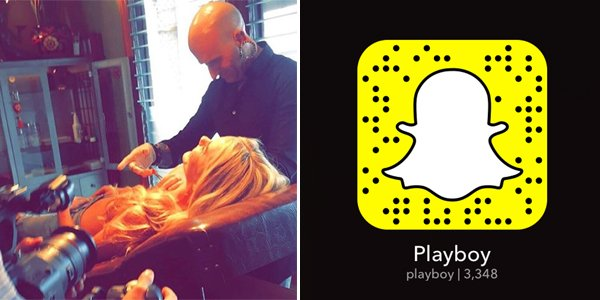 Last Chance: Add us on Snapchat, username Playboy, to see girls get their nipples pierced at
