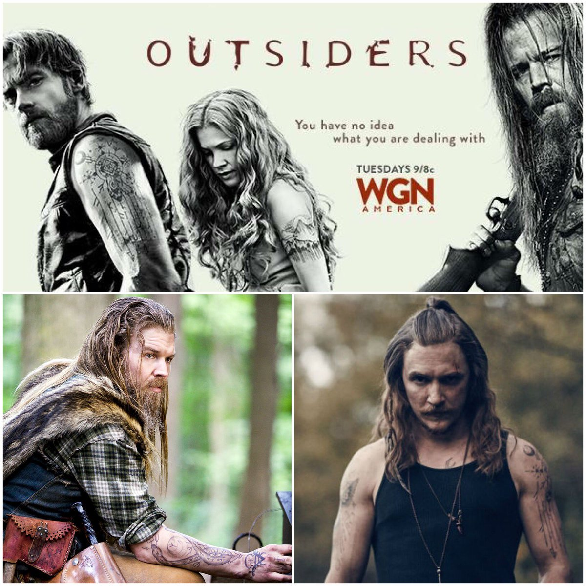 As long as I don't wash away. Today I chat with @RamboDonkeyKong & @KyleGallner for @TheVRO!! #OutsidersWGN https://t.co/OQccCUi74B