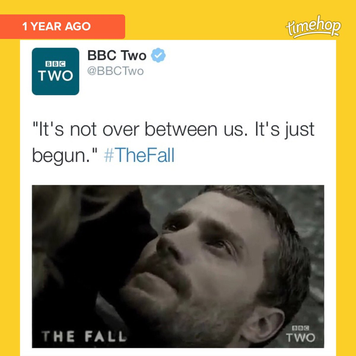 @JamieDornan_org aww, one year ago Season 3 of #TheFall was announced! #jamiedornan https://t.co/XXBLPFz00n