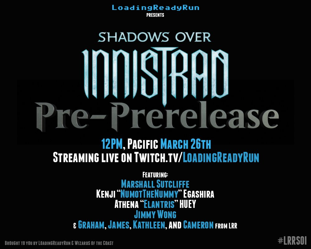 Join us March 26th for the #MTGSOI PRE-PRERELEASE feat. @Marshall_LR, @_Elantris_, @NumotTheNummy, @jfwong!  #LRRSOI https://t.co/C8f5gWO2CI
