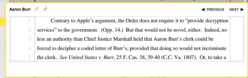 DOJ cites 1807 involving crypto used by VP Aaron Burr! https://t.co/ncPrA01I64 https://t.co/1IbpF3oNmJ https://t.co/8iqRvCcptm