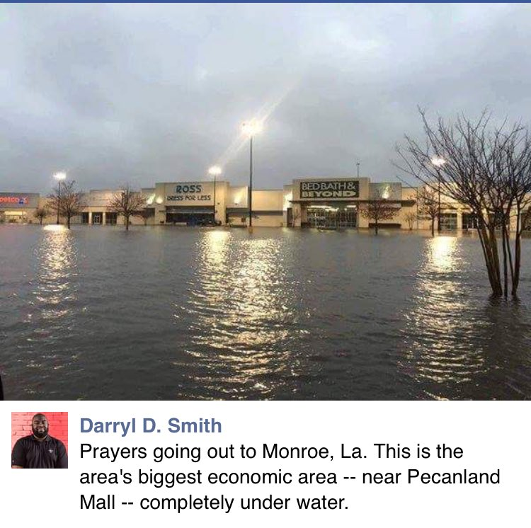 This flood is no joke . This like 30 mins from me