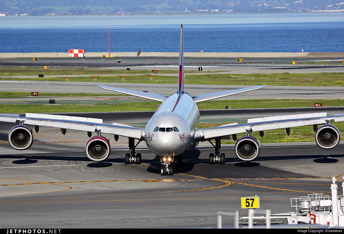 RT @JetPhotosNet: A @VirginAtlantic A340-600 taxiing after arrival at @flySFO. by bailebao