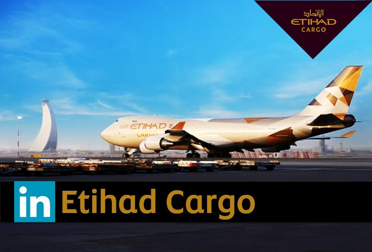 Follow EtihadCargo on LinkedIn & join our contest for a chance to win a B787 AC model: