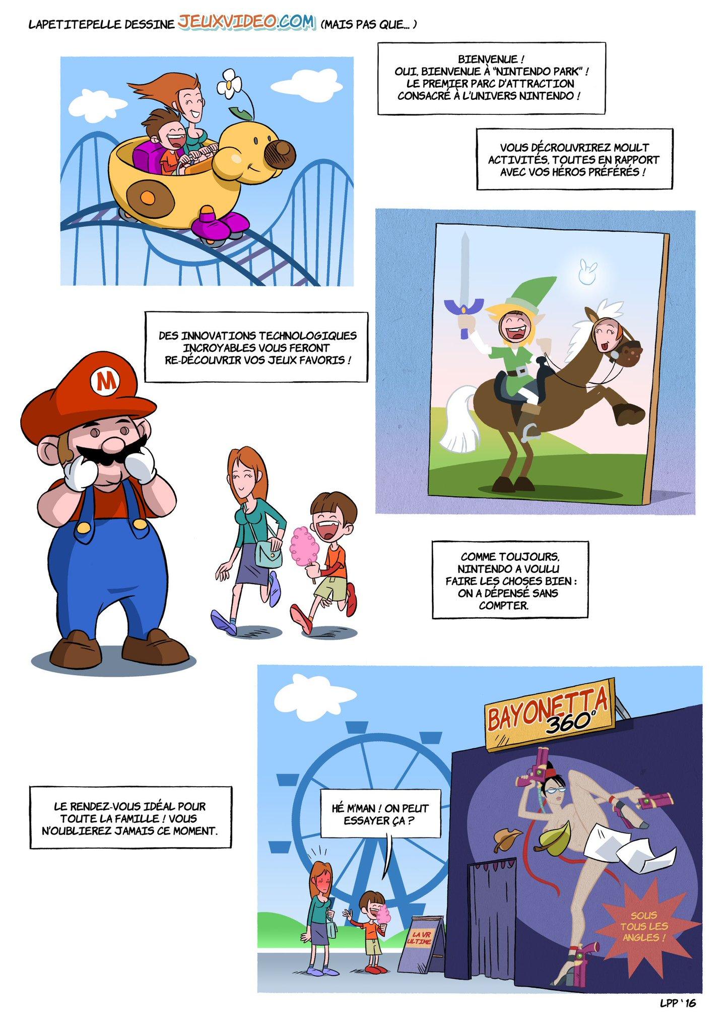 À quoi pourrait bien ressembler un parc d'attractions Nintendo ? @LaPetitePelle a la réponse ! https://t.co/dNzoLnWtpO