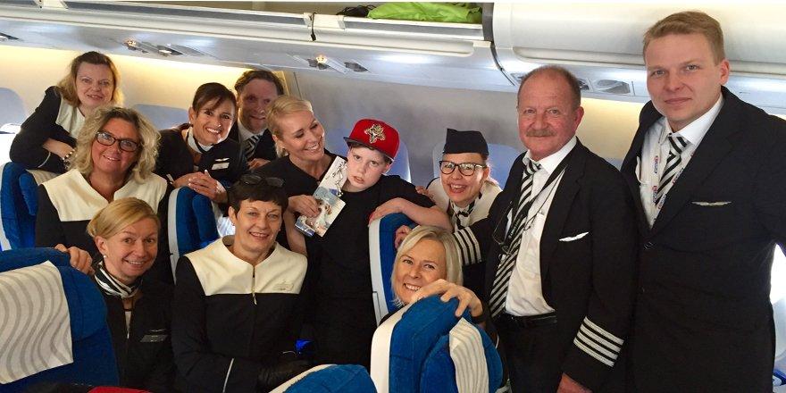 Lue Aleksin ja @mervikallio 'n unelmalennosta Tee hyvää, laita FinnairPlus -pisteet kiertoon