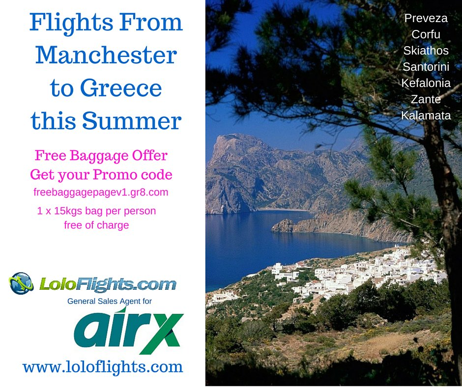 Loloflights the new flight operator to Greece for the peak season with the best prices -