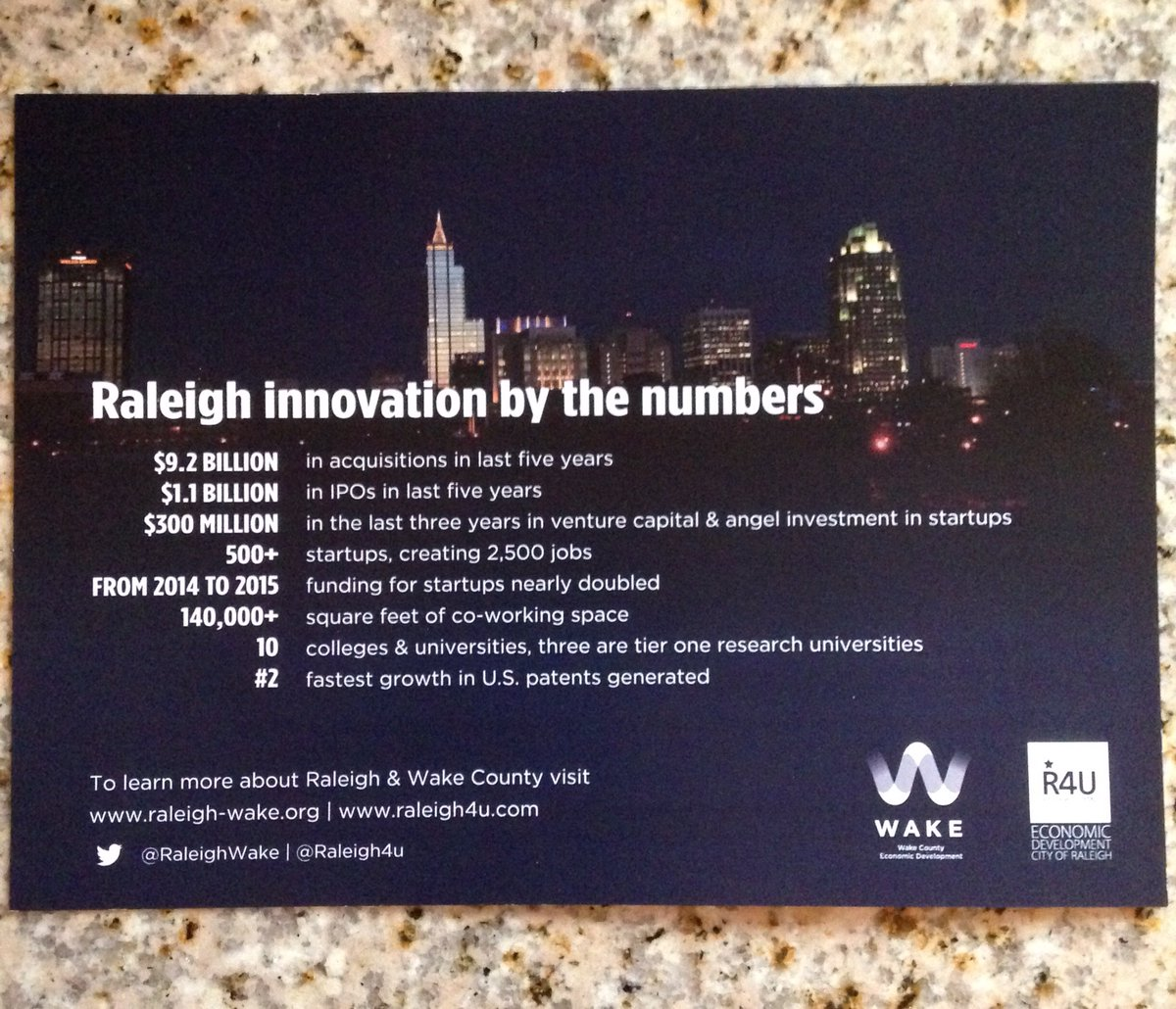 I'm digging these cards about Raleigh. Great job on designing them @keglaser. @RaleighWake @Raleigh4u https://t.co/ZRNWzczuVv