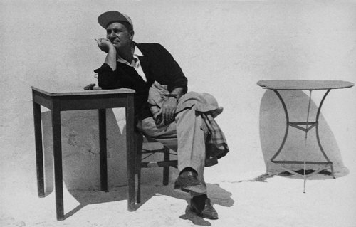 Honoring the memory of O. Elytis, @teloglion presents an exhibition in honor of his work: