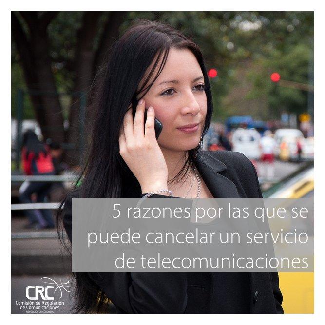5 razones por las que puedes cancelar tu servicio de #telecomunicaciones https://t.co/0MdWhIAzgn #usuarios https://t.co/sTQ9CREaTS