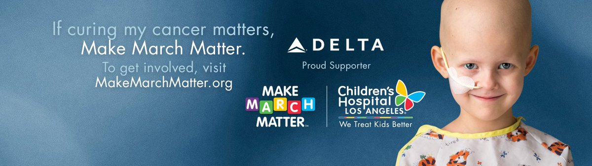 Help us MakeMarchMatter with @childrensla! Visit to learn more!