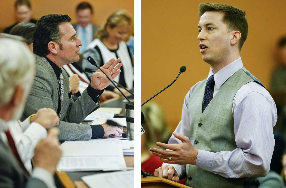 Vaughn vs. Masterson: Budget fight 'more than a feeling' via @TimVCarpenter | https://t.co/Jwxvjo60AN #ksleg https://t.co/oYMFscBYKr