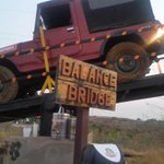 RT @Vivek_Nayer: How good are you at balancing ?....ok then try this at our Mahindra Offroad Academy in Igatpuri @MahindraAdvntr https://t.…