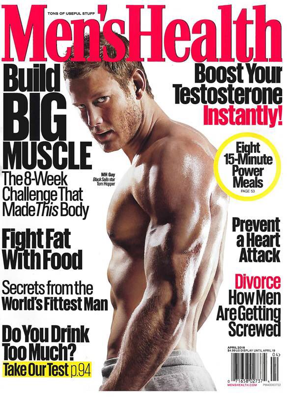 Extremely proud and privileged to be on the cover of @MensHealthMag this month. Training talk for @BlkSails_Starz https://t.co/ND50bU0hYK