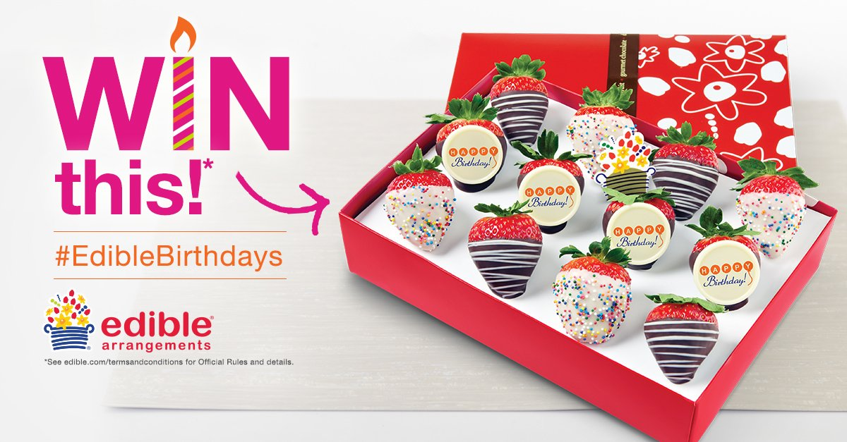 Check out our new birthday box: https://t.co/ChfIGZAyrW. Reply with your favorite part to win! #EdibleBirthdays https://t.co/EWjqqT2qaU