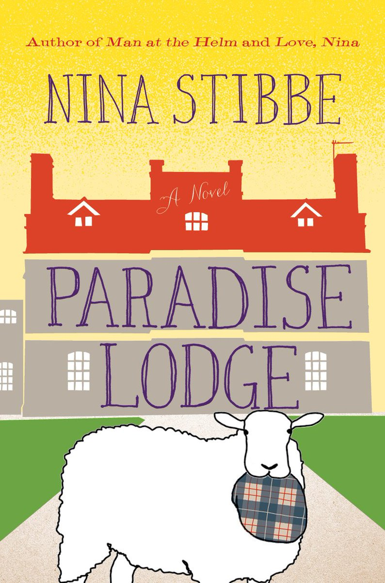 We're thrilled to share the art for @NinaStibbe's #ParadiseLodge! RT for a chance to win a copy of MAN AT THE HELM. https://t.co/Nu59qpg2wf
