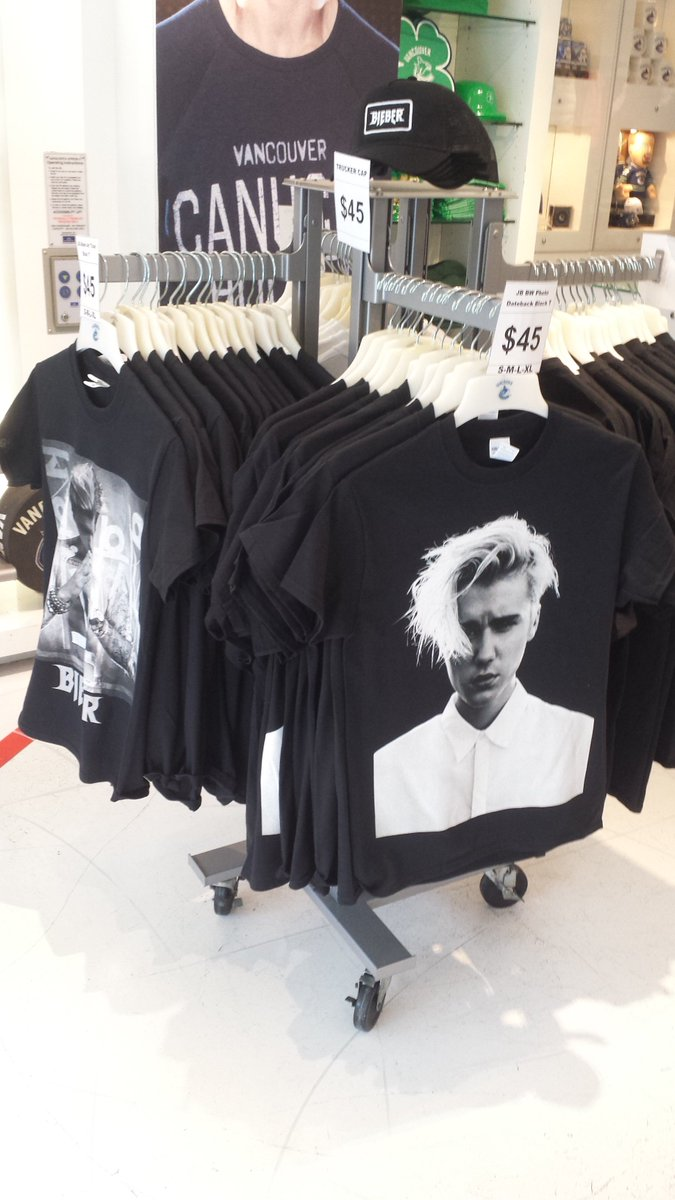 Psst... we have @justinbieber tour merch available at our Robson store. Today only until this afternoon!