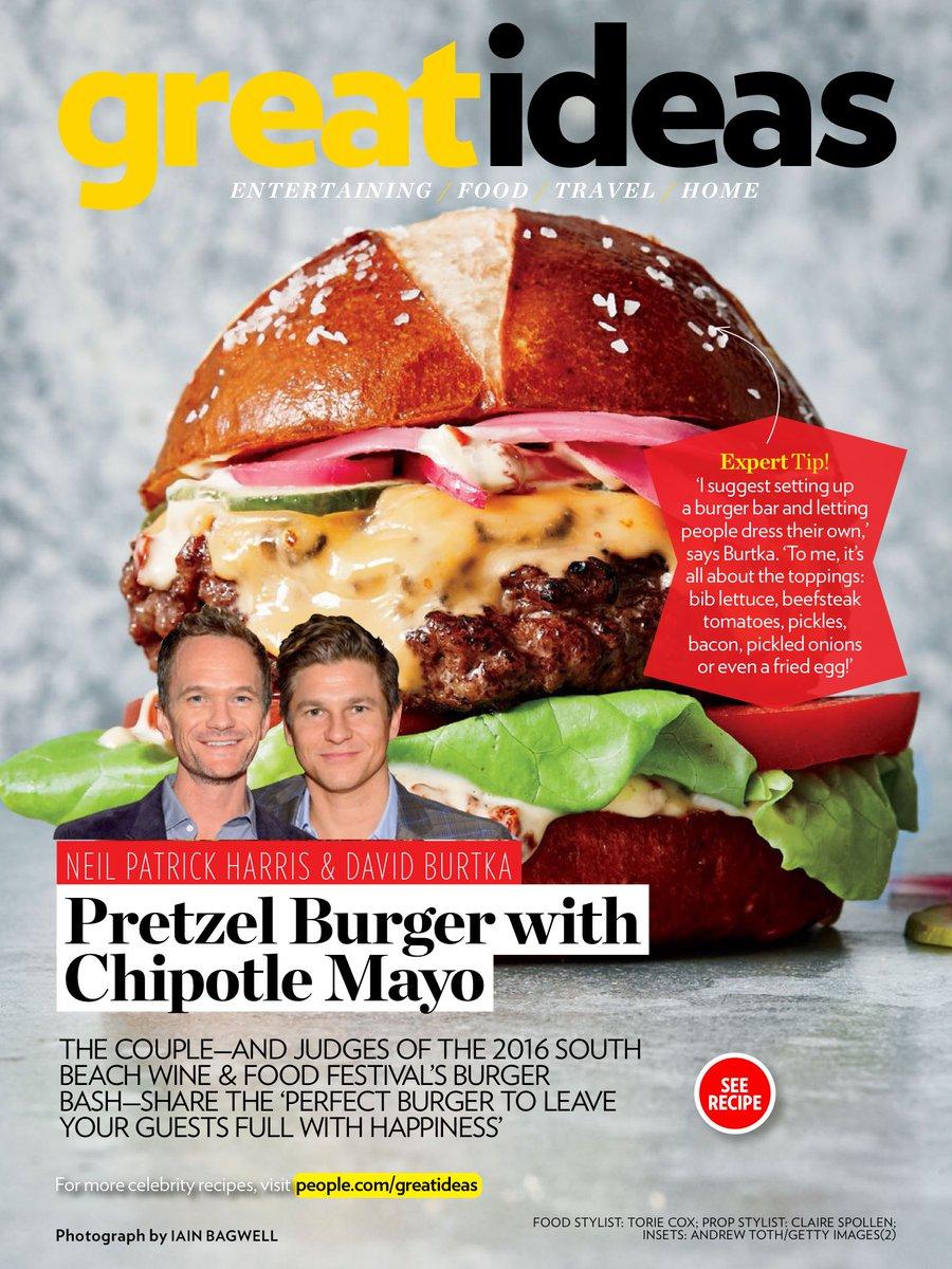 .@ActuallyNPH and @Davidburtka burger recipe from People Magazine https://t.co/B5HvxIel8Q