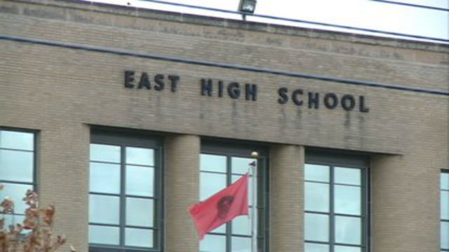 East High School evacuated due to written threat. Students, staff safe. https://t.co/lANqUqbu4S https://t.co/34gylGOPwP