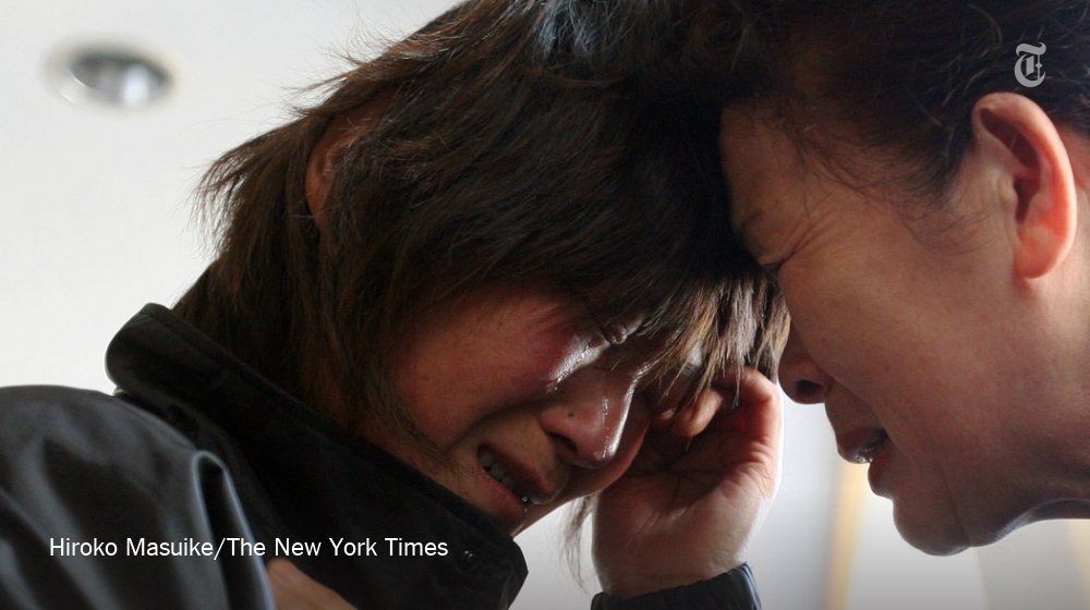 5 years after Japan's deadly tsunami, photos of one grief-stricken family