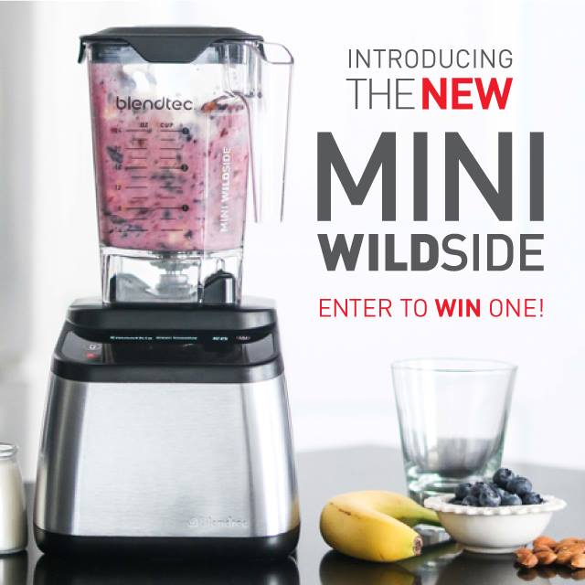 Perfect for small blends, say hello to the Mini-Wildside+! RT for a chance to win! https://t.co/WJ8MAyiOZu #blendtec https://t.co/t04Kp4WCAQ