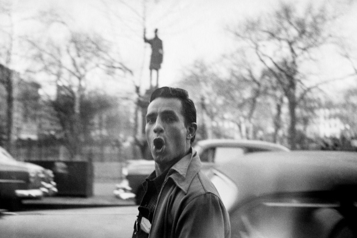 Jack #Kerouac was born on this day in 1922. Photo of him barbarically yawping by Allen Ginsberg/ https://t.co/3NjXRRHkNx