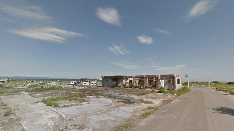 5 years after tsunami, Google Street View images illustrate slow cleanup in Fukushima, Japan