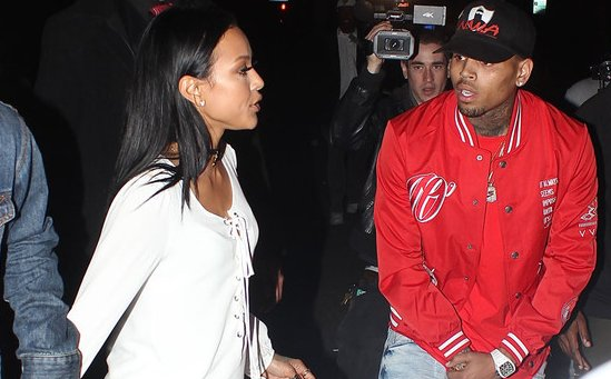 Chris Brown & ex-girlfriend Karrueche Tran slam each other online because of course they do: