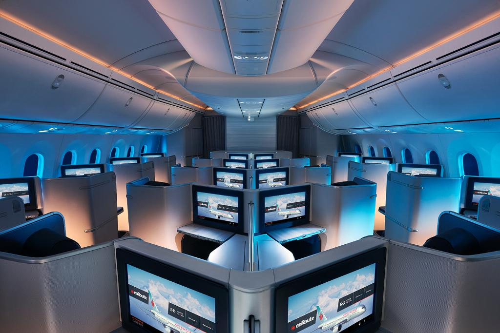 Voyagez dans le calme et la sérénité à bord de notre B787 Dreamliner: