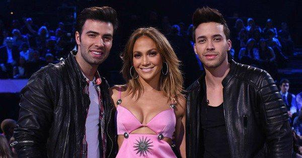Stunner! Jennifer Lopez reunites with Jencarlos Canela & Prince Royce on American Idol: