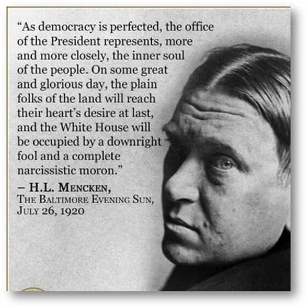 Hurrah! Some smart friend put the Mencken quote in a single box. I urge you to read it. I hope you can enlarge. https://t.co/zKouCWz0PA