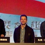Ben Affleck & Henry Cavill kicked off the #BatmanvSuperman press tour in China today! https://t.co/F1MNqUT61J https://t.co/6ud61L9Td7
