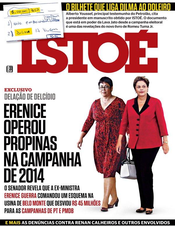Delcídio revela que Erenice Guerra desviou R$ 45 milhões de Belo Monte para abastecer a campanha de Dilma em 2014