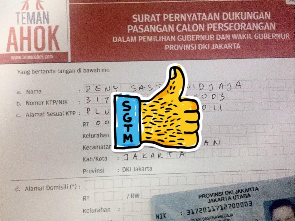 Done! #KTPGueBuatAhok #SejutaKTPBuatAhok #JakartaBARU (BASuki HeRU) cc @temanAhok @basuki_btp https://t.co/1MT1EtL6qh
