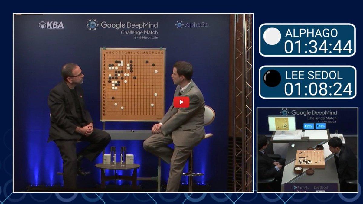If Lee Sedol loses tonight he gotta get off the sticks  #AlphaGo https://t.co/PIdvKmPZOz https://t.co/wjPAtDJ5G4