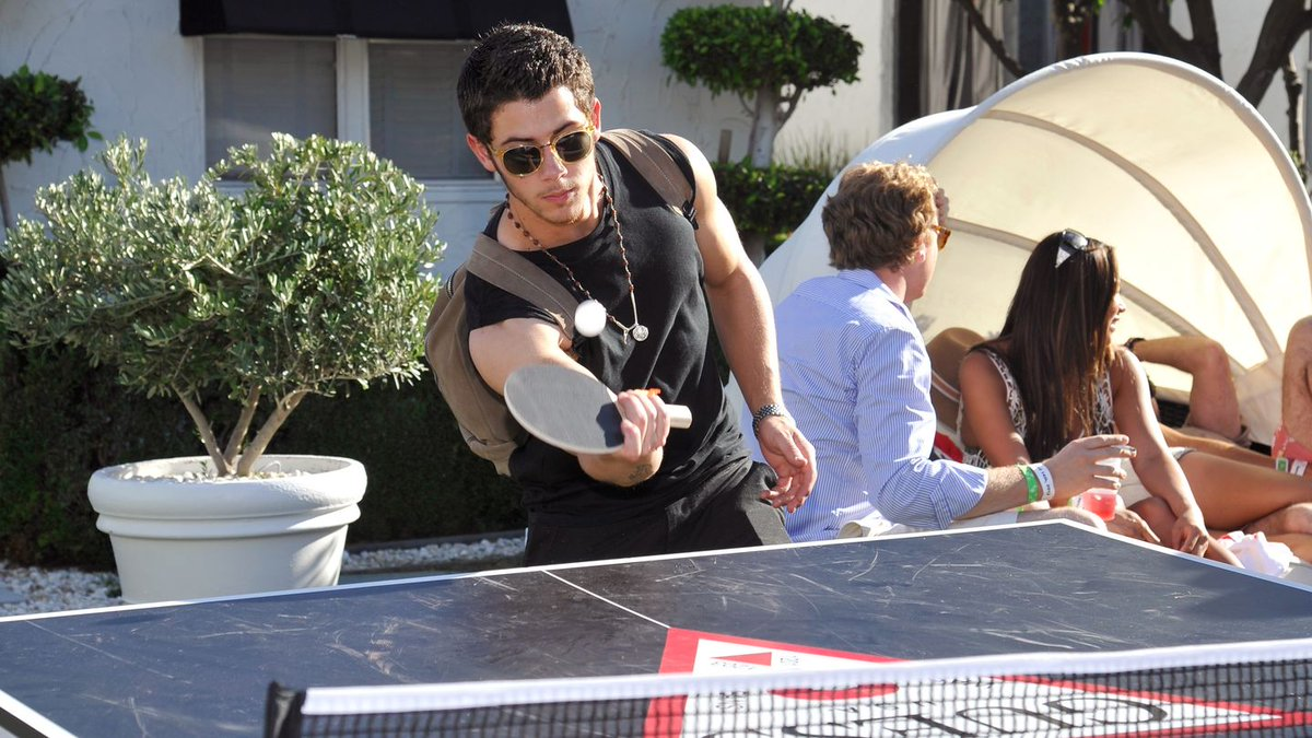 Want To Play Ping Pong With Nick Jonas? It'll Cost You $3,500