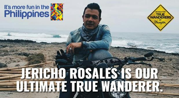 @Jericho_Rosales is our #TrueWanderer. Follow his lead: https://t.co/p6ep76Pwvi #ItsMoreFuninThePhilippines https://t.co/p0QnO3Xbrh