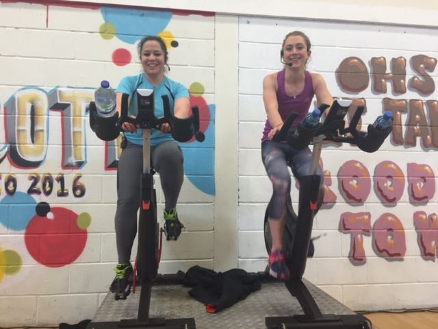 We've started our spin class with @LauraTrott31 at our Woking club. How's your morning so far? #weplayout https://t.co/J5PRObVxyb