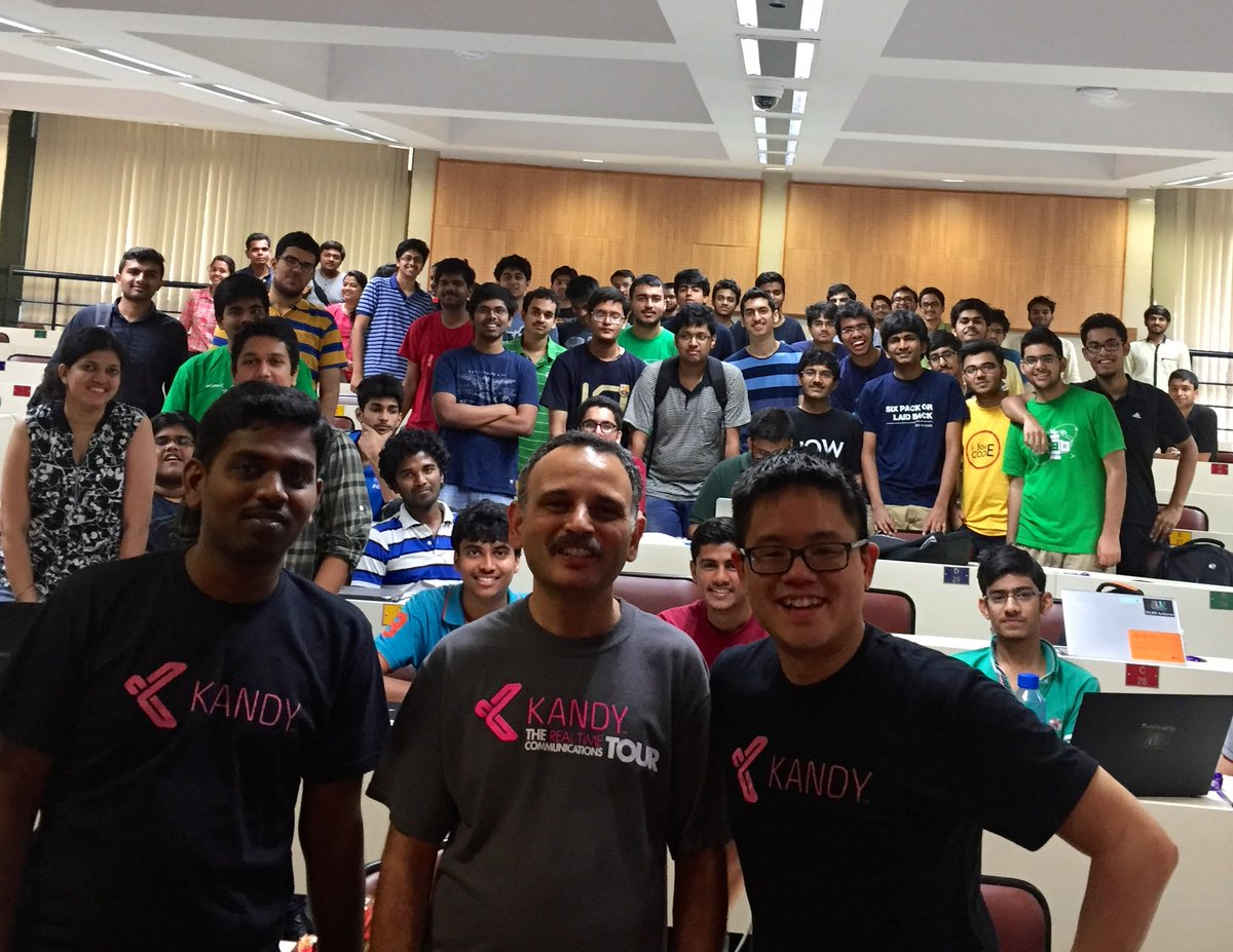 Awesome turn out for the @KANDY_io hackathon @iitbombay and lots of great idea pitches! @Japor https://t.co/8fZLT08ywA