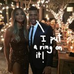ICYMI! #Ciara & #RussellWilson are engaged! See the massive ring HERE! https://t.co/voBBXAyITI https://t.co/zrJ2bGkqpm