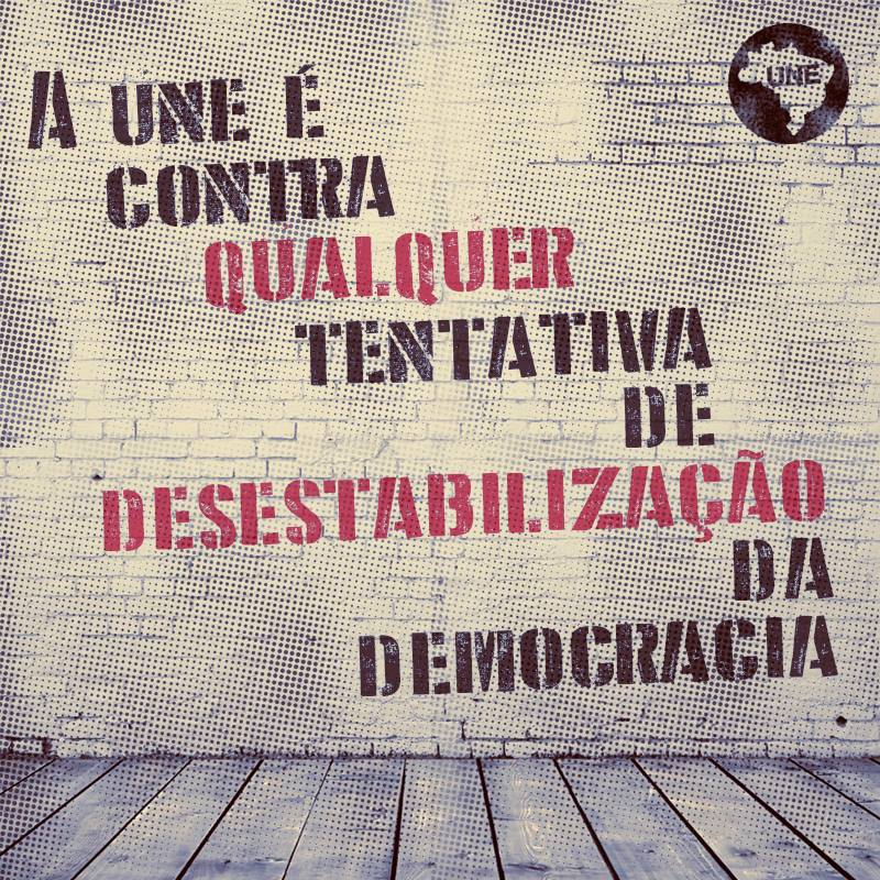 Não toleramos nenhum passo atrás. #democracia #1964nuncamais #naovaiterretrocesso https://t.co/jkT4cJbj5b